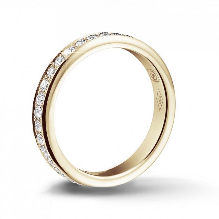 9f1e59ea1c 0.68 Karat Diamant Memoire Ring (rundherum besetzt) aus Gelbgold ...