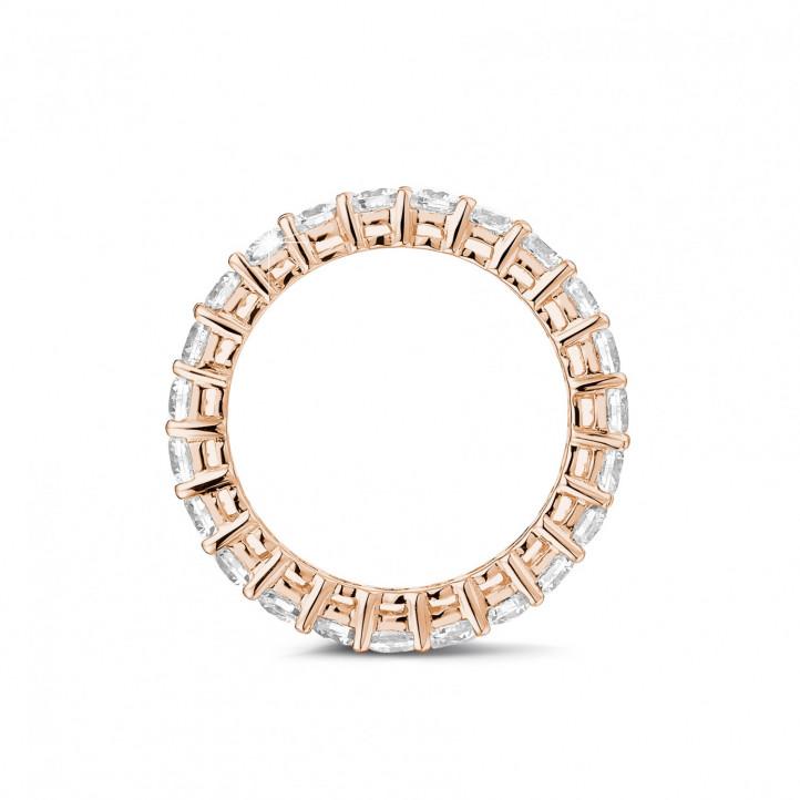 karat diamant memoire ring aus rotgold baunat. Black Bedroom Furniture Sets. Home Design Ideas