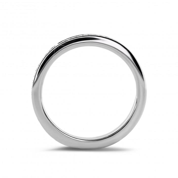0.22 carat diamond eternity ring (full set) in platinum