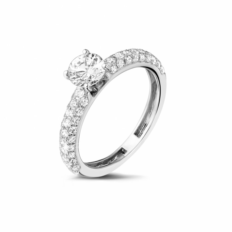 platinum engagement rings 0 70 carat baunat
