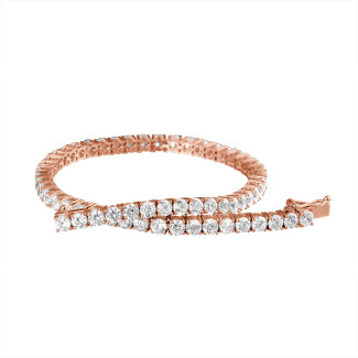 18 Kt red gold