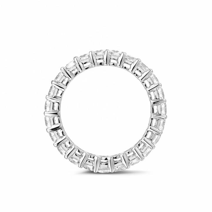 2.30 quilates alianza diamante en oro blanco