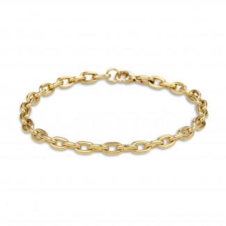 Bracelets - Chaîne de bracelet élégante en or jaune