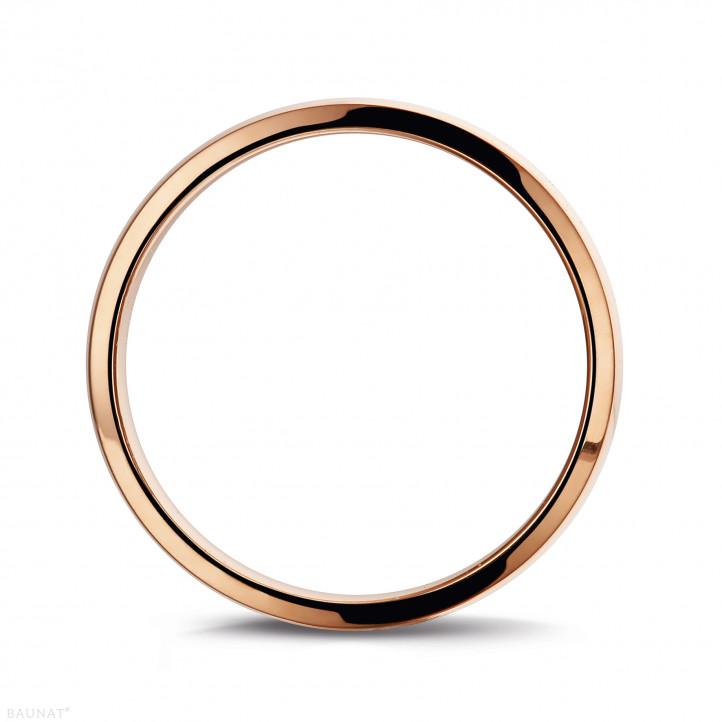 男士玫瑰金戒指 寬度為3.00毫米