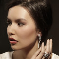 設計系列2.50克拉白金鑽石戒指
