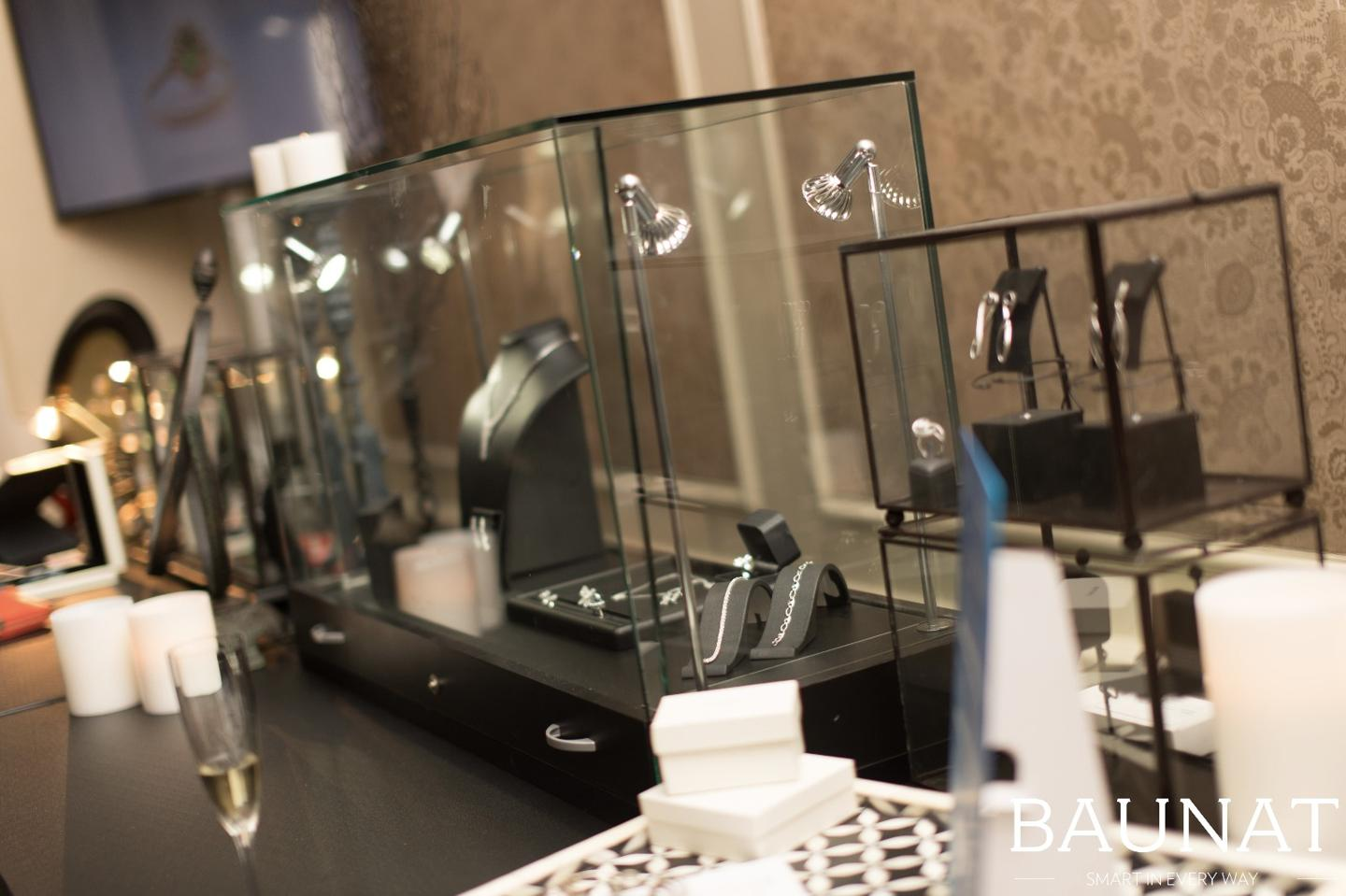 De showroom van BAUNAT in diamantcentrum Antwerpen.