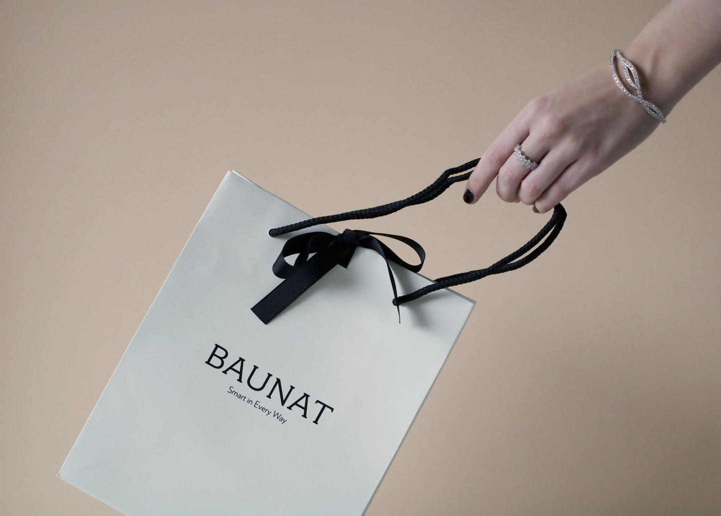A must have bracelet that is elegantly packaged by BAUNAT.