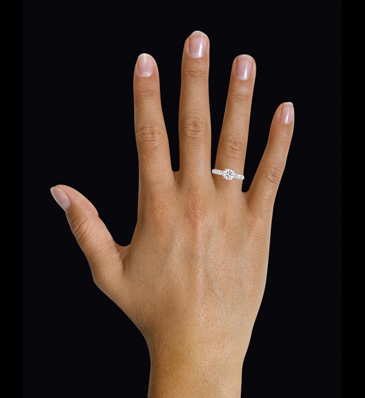 verlobungsring diamant 1 karat