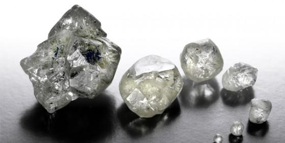 Ruwe diamanten