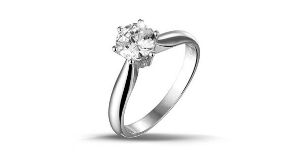 https://images.baunat.comDiamond solitaire ring in white gold