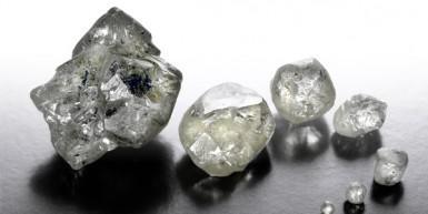 Rohdiamanten