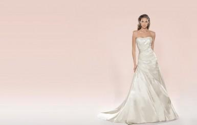 perfektes Hochzeitskleid