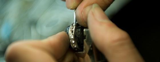 productie diamantjuweel