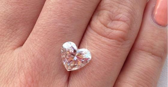 Diamonds: the ultimate symbol of love