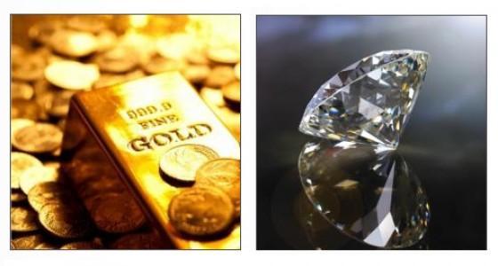 Gold vs. Diamant