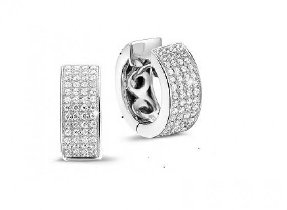 Diamantene Ohrringe: Perfekt fürs Büro