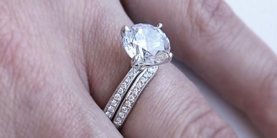 Diamond mystique and diamond rings