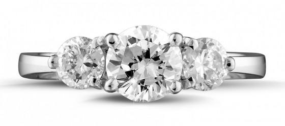 Pure beauty: brilliant diamond rings