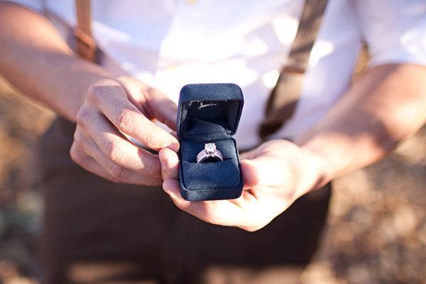 Der perfekte Heiratsantrag, Diamantring inklusive