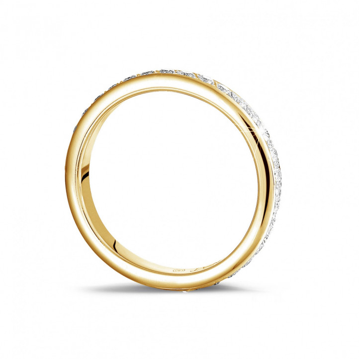 0.55 karaat diamanten alliance (volledig rondom gezet) in geel goud