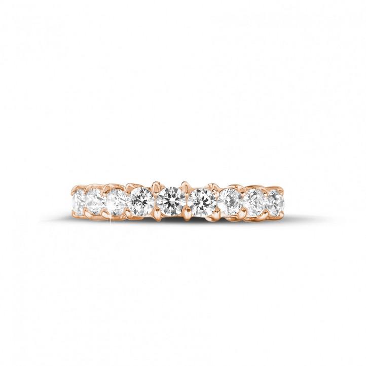 0.54 karaat diamanten alliance in rood goud