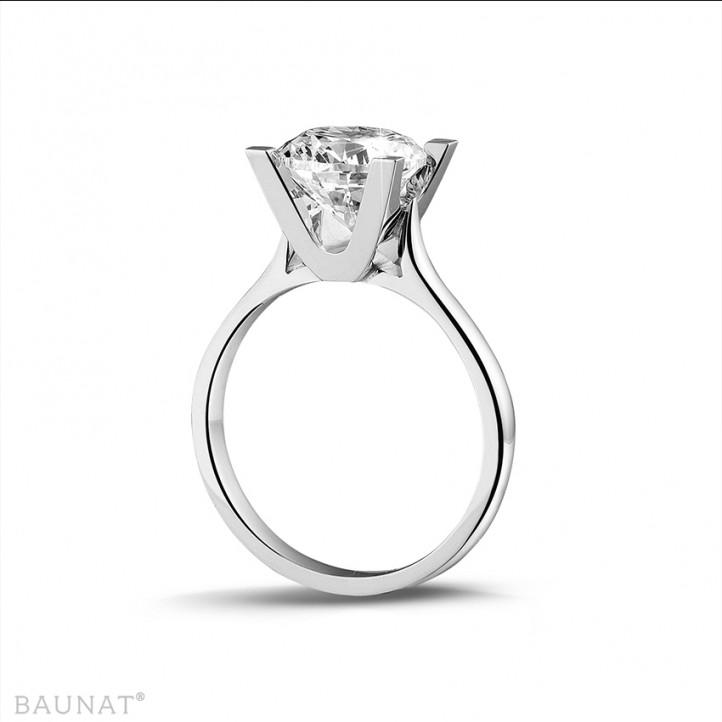 2.50 caraat diamanten solitaire ring in wit goud