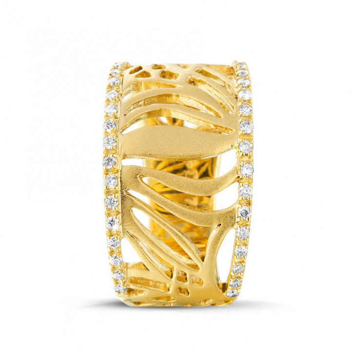设计系列0.17克拉黄金钻石戒指