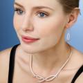 设计系列7.90克拉玫瑰金钻石项链