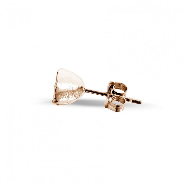 设计系列0.25克拉玫瑰金钻石耳环