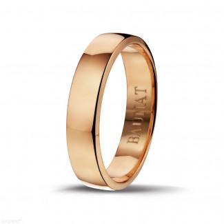 男士玫瑰金戒指 宽度为5.00毫米