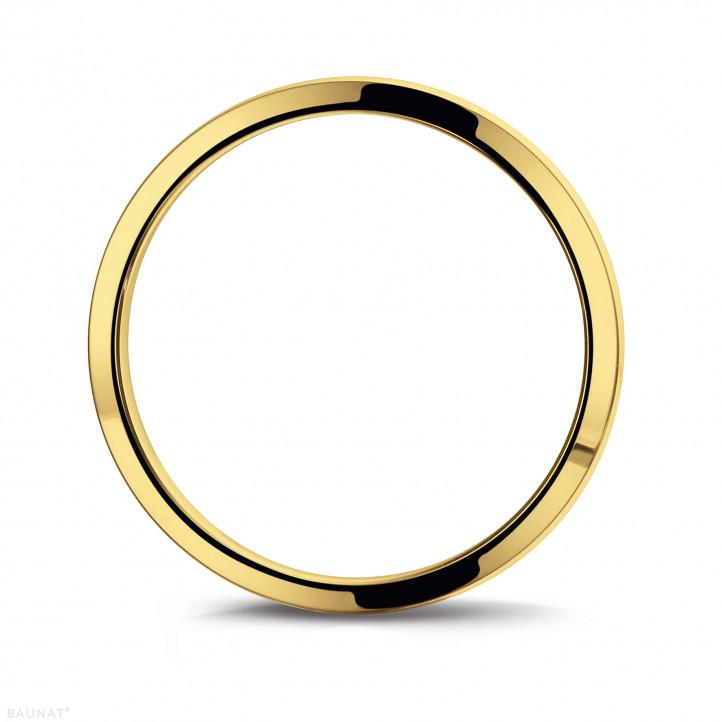 男士黄金戒指 宽度为3.00毫米