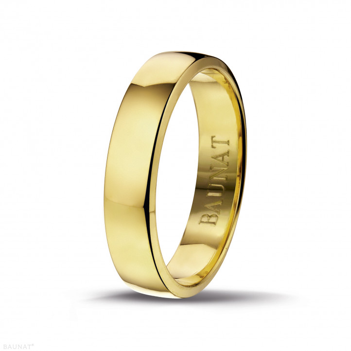 男士黄金戒指 宽度为5.00毫米